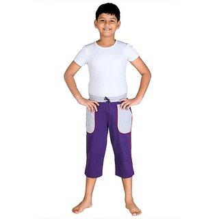 Dongli Fashion Capri Purple