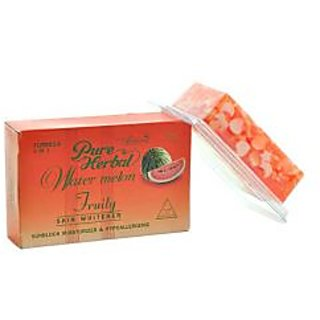PURE HERBAL WATERMELON SOAP FOR SKIN WHITENING.
