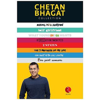 [Exclusive] The All New Chetan Bhagat Collection (8 Books Set)