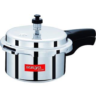 Surya Accent 3 Ltr Aluminium Pressure Cooker