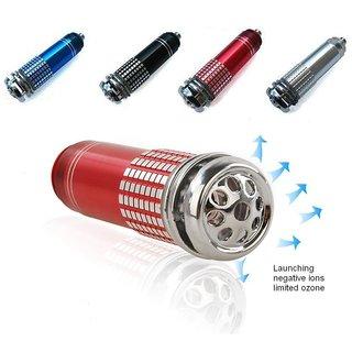 Mini 12V Auto Car Fresh Air Purifier Oxygen Bar Ionizer Oxygen Bar free shipping