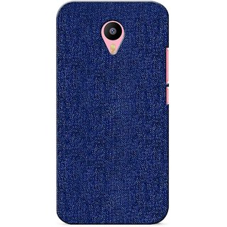 G.store Printed Back Covers for Meizu M2 Note blue