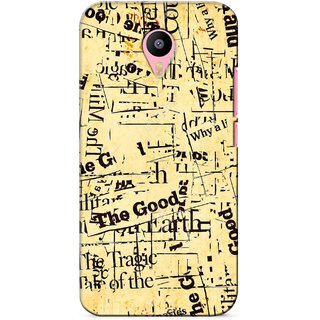G.store Printed Back Covers for Meizu M2 Note Multi