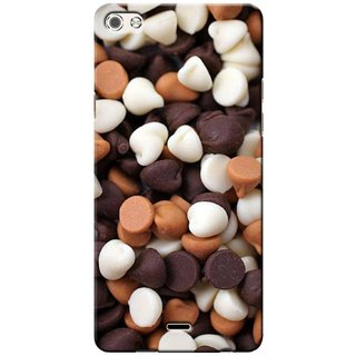 G.store Printed Back Covers for Micromax Canvas 5 Q450 Multi