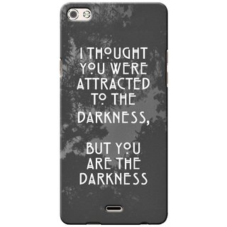 G.store Printed Back Covers for Micromax Canvas 5 Q450 Grey