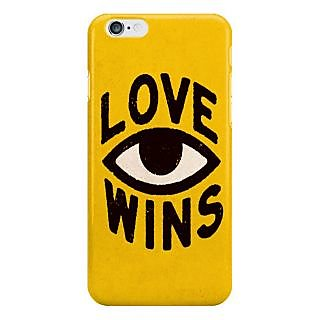 Dreambolic Love Wins I Phone 6 Plus Mobile Cover
