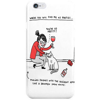 Dreambolic Me At Parties I Phone 6 Plus Mobile Cover