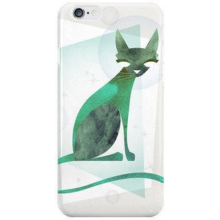 Dreambolic Mid Century Feline I Phone 6 Plus Mobile Cover