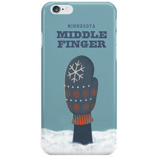 Dreambolic Minnesota Middle Finger I Phone 6 Plus Mobile Cover