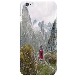 Dreambolic Mint Hut I Phone 6 Plus Mobile Cover
