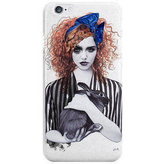 Dreambolic Miss Emma Her Bunny I Phone 6 Plus Mobile Cover