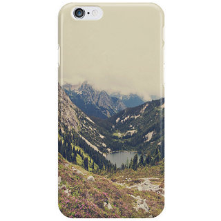 Dreambolic Mountain Flowers I Phone 6 Plus Mobile Cover