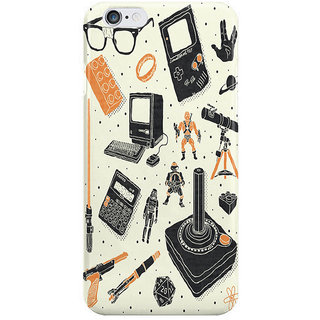 Dreambolic Nerd Life I Phone 6 Plus Mobile Cover