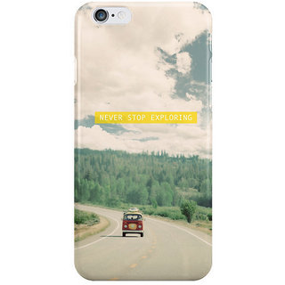 Dreambolic Never Stop Exploring I Phone 6 Plus Mobile Cover