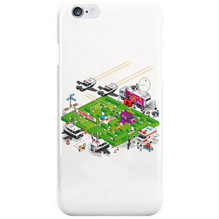 Dreambolic Pacman Crime Scene I Phone 6 Plus Mobile Cover