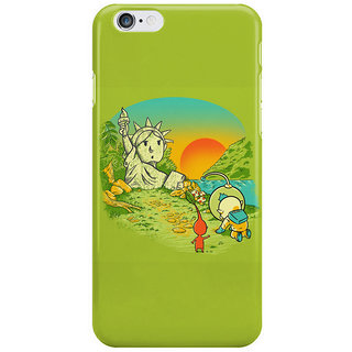 Dreambolic Planet Of The Pikminis I Phone 6 Plus Mobile Cover