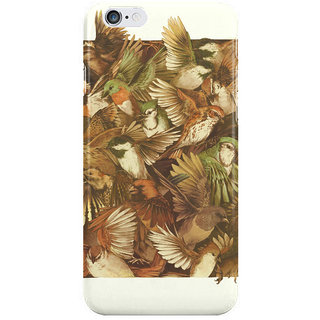 Dreambolic Red Throated I Phone 6 Plus Mobile Cover