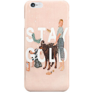 Dreambolic Stay Gold I Phone 6 Plus Mobile Cover