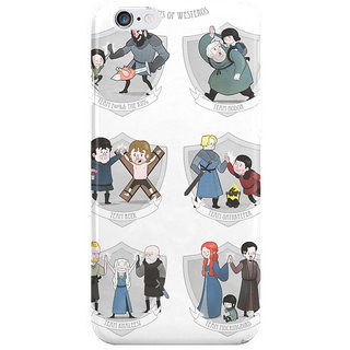 Dreambolic The Teams Of Westeros I Phone 6 Plus Mobile Cover