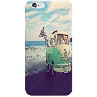 Dreambolic Never Stop Exploring The Beach I Phone 6 Plus Mobile Cover