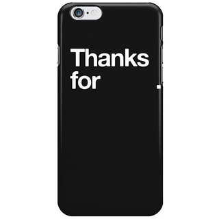 Dreambolic Nothing I Phone 6 Plus Mobile Cover
