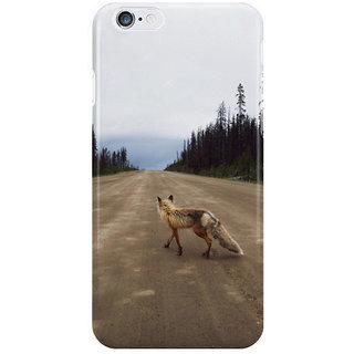 Dreambolic Road Fox I Phone 6 Plus Mobile Cover