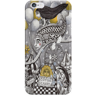 Dreambolic Roller Coaster Ride I Phone 6 Plus Mobile Cover