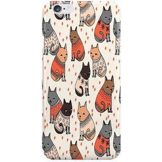 Dreambolic Sweater Cats By Andrea Lauren I Phone 6 Plus Mobile Cover