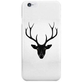 Dreambolic The Black Deer I Phone 6 Plus Mobile Cover