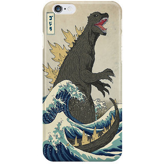 Dreambolic Great Godzilla Off Kanagawa I Phone 6 Plus Mobile Cover