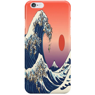 Dreambolic The Great Wave Of Pug I Phone 6 Plus Mobile Cover