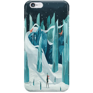 Dreambolic Wanderer And The Ice Forest I Phone 6 Plus Mobile Cover