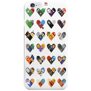 Dreambolic Versus Hearts Series I Phone 6 Plus Mobile Cover