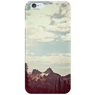 Dreambolic Vintage Mountain Ridge I Phone 6 Plus Mobile Cover