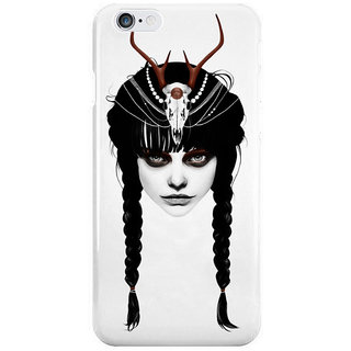 Dreambolic Wakeful Warrior In Red I Phone 6 Plus Mobile Cover