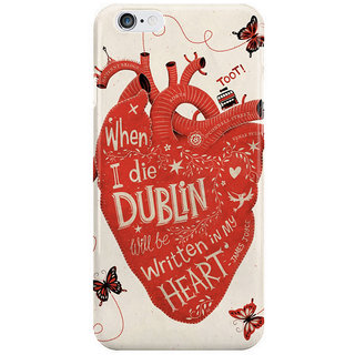 Dreambolic When I Die I Phone 6 Plus Mobile Cover