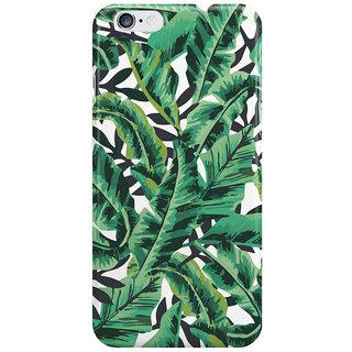 Dreambolic Tropical Glam Banana Leaf Print Back Cover For I Phone 6