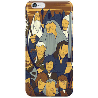 Dreambolic The Fellowship Of The Ring Back Cover For I Phone 6