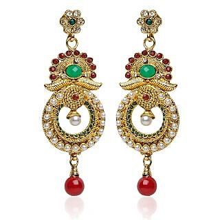 Shining Diva Festive Layer Earrings