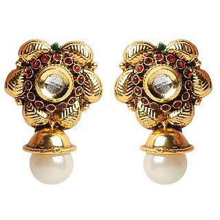 Shining Diva Floral Divine Earrings