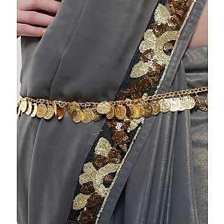 Shining Diva Coined Golden coloured Kamarband