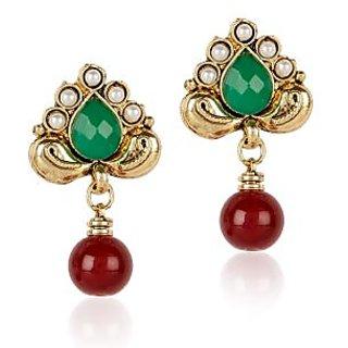 Shining Diva Designer Hanging Earrings