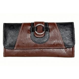 Designer PU Leather New Ladies Wallet Ladies Purse Ladies money purse BL+BR 511