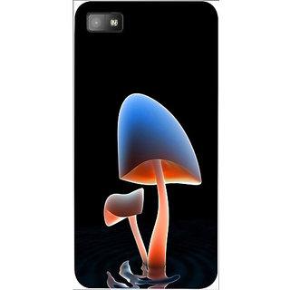 Casotec Mushroom lake Design 3D Hard Back Case Cover for Blackberry Z10