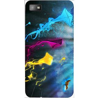 Casotec Kites Design 3D Hard Back Case Cover for Blackberry Z10