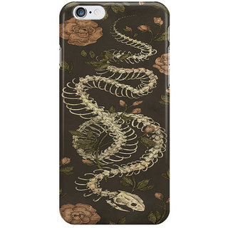 Dreambolic Snake Skeleton I Phone 6S Back Covers