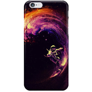 Dreambolic Space Surfing I Phone 6S Back Covers