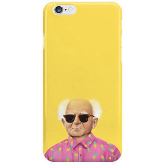 Dreambolic Yellow I Phone 6S Back Covers