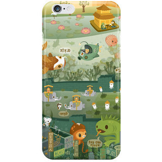 Dreambolic The Octonauts Explore The East I Phone 6S Back Covers