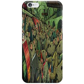 Dreambolic Tube Rats I Phone 6S Back Covers